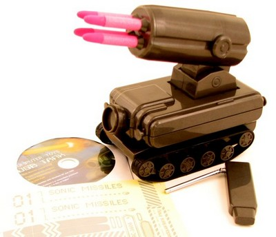 USB Roving Missile Launcher – Mutually assured amusement
