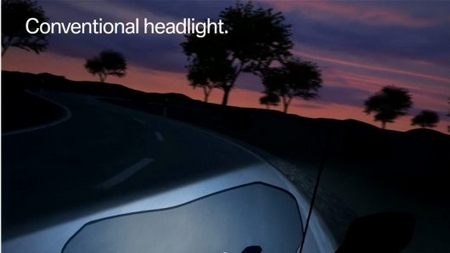 BMW's new Adaptive Headlight technology lets bikers see around corners