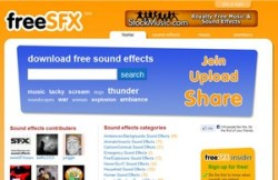 FreeSFX – free sound effects