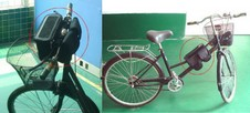 solarbicyclebag2 small1 Solar Bicycle Bag   keep your stuff powered up as you move