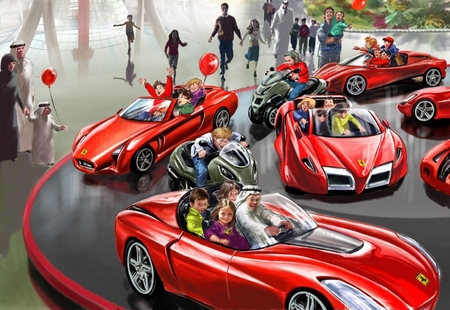 Ferrari World to wow theme park lovers
