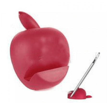 How cute, an iPad holder that looks like an apple