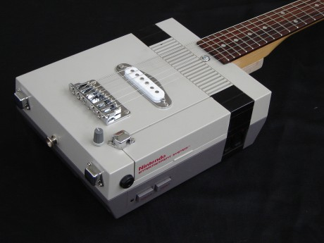 Rock out retro-style with your own NES Guitar