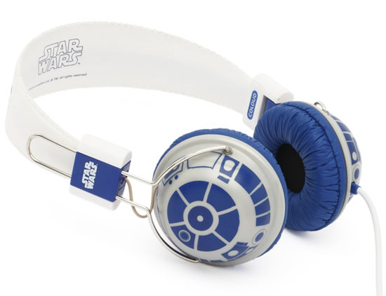 R2-D2 Headphones make a geeky fashion statement