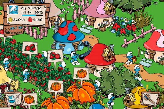 Free Smurfs' Village app could cost you serious money