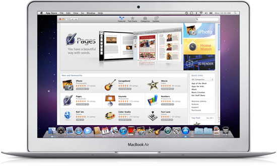 appstore Apple set to launch Mac App Store on January 6