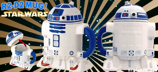 R2-D2 mug is the droid you're looking for