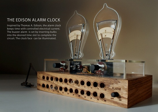 Edison Alarm Clock wasn't actually made by Edison himself