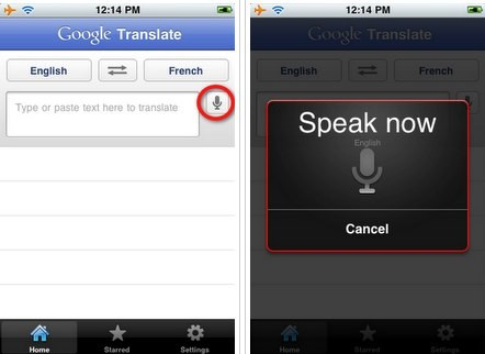 Google Translate comes to the iPhone