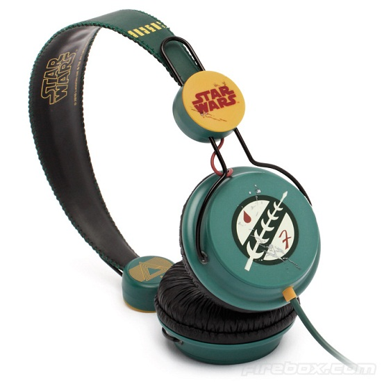 Boba Fett Headphones show your allegiance to the Mandalorians