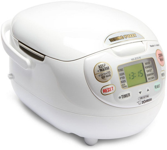 Neuro Fuzzy Rice Cooker makes perfect rice every time
