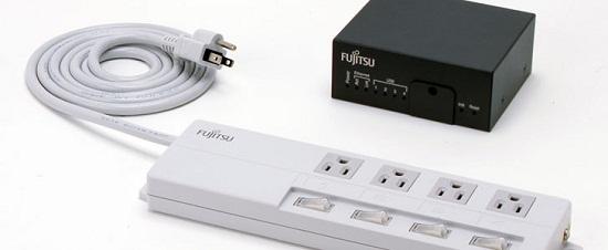 Fujitsu Power Strip lets you monitor your power usage