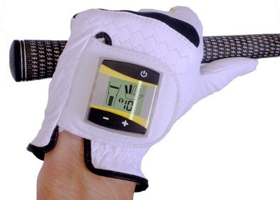 SensoGlove helps you with your golf grip
