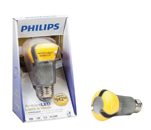 Philips AmbientLED bulb saves energy, shines bright