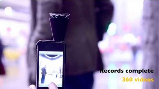GoPano micro brings 360-degree recordings to the iPhone