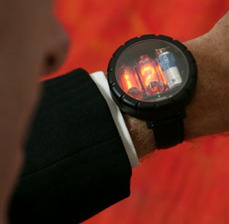 Get your own Nixie Tube watch