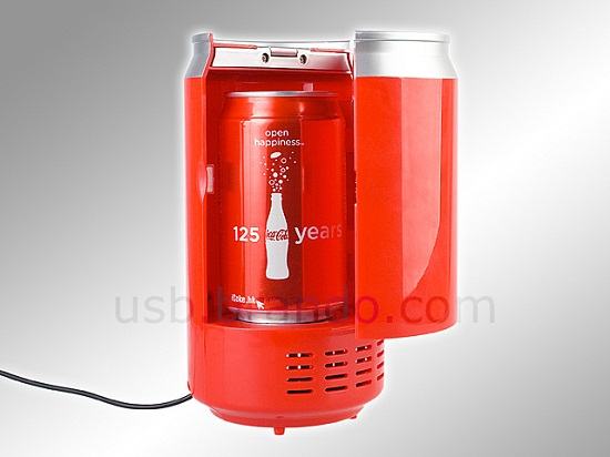 USB Can-Shaped Cooler and Warmer gets your beverage to the right temperature