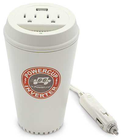 Coffee Cup Power Inverter is ingenious