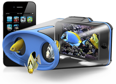 Hasbro's My3D Viewer turns your iPhone into a ViewMaster