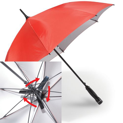 Fanbrella keeps you shaded and cool