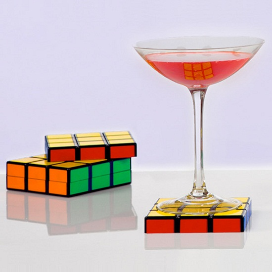 Rubik's Coasters don't need to be solved
