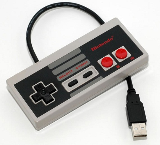 NES Controller USB Drive stores your files in retro fashion