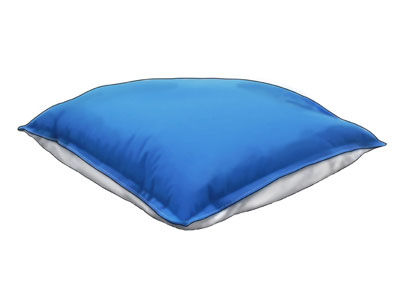 Polar Pillow keeps your head nice and cool at night