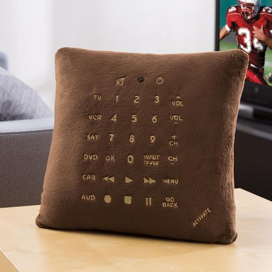 Pillow Remote Control won't get lost so easily