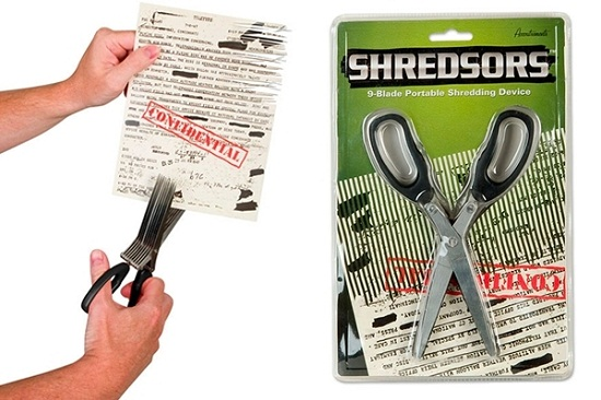 Shredsors let you manually shred documents