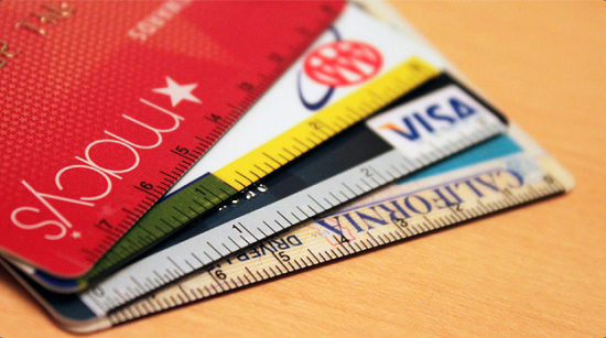 Cardsticks turn your credit cards into rulers