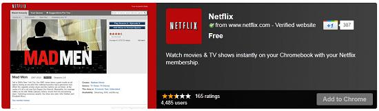 Netflix comes to ChromeOS