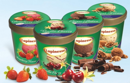 Allergy sufferers can dream of ice cream – Lupinesse is almost like the real thing
