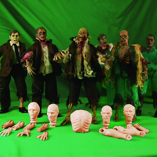 Create Your Own Zombie Kit is perfect for Halloween