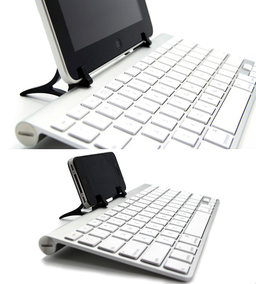 WINGStand turns your keyboard into an iPad stand
