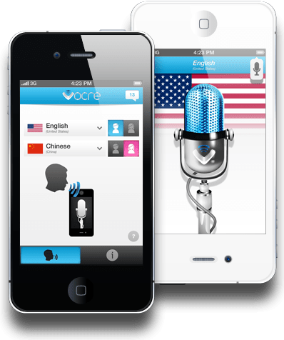 Use Vocre to translate speech almost instantly