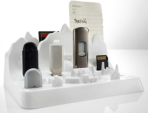 Memory City turns your flash drives into skyscrapers