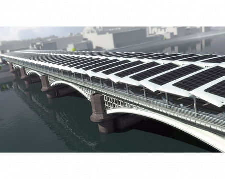 Blackfriars solar bridge 1