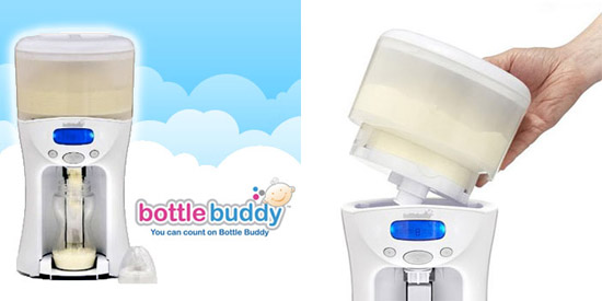 Bottle Buddy measures your formula for you