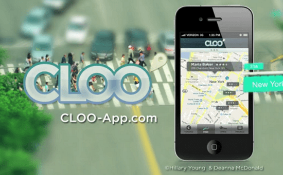 cloo CLOO lets you rent out your bathroom to those in need