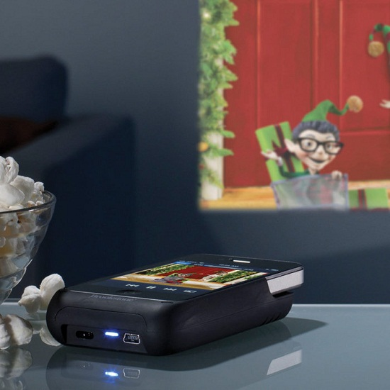 Pocket Projector produces a 50-inch display from your iPhone