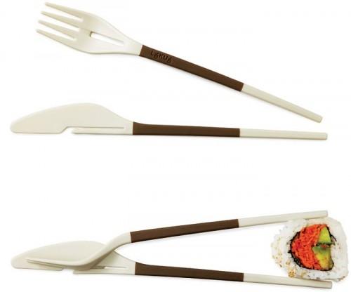 Fork-Knife Chopsticks are transforming utensils