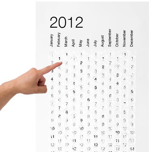 2012 Bubble Calendar