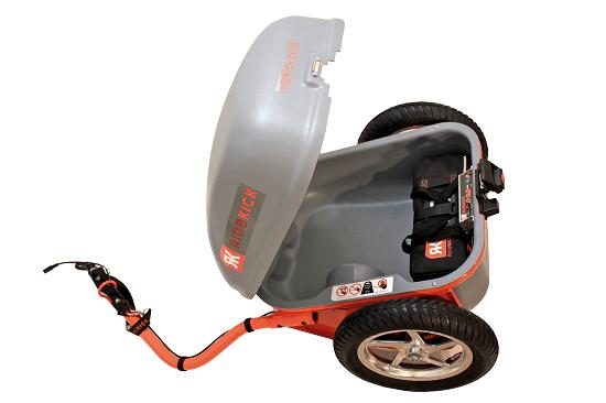 Add electric power to your bike with Ridekick
