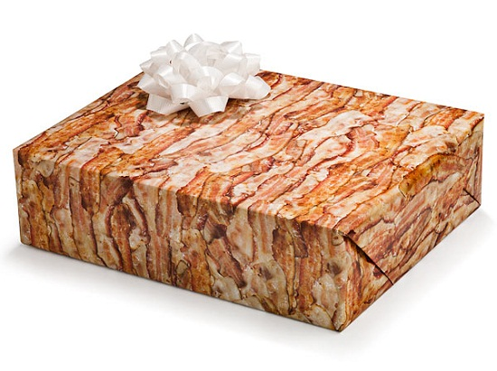 Wrap your holiday gifts in delicious bacon