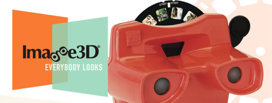 imagine3d Image3D lets you make your own View Master reels