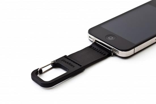 iPhone Carabiner Clip puts your favorite gadget in harm's way