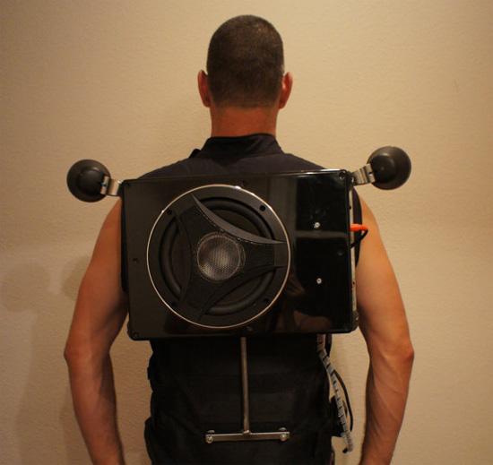 Speaker Vest with 8� subwoofer