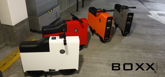 BOXX 2012 Fleet BOXX electric bike measures just 1 meter in length