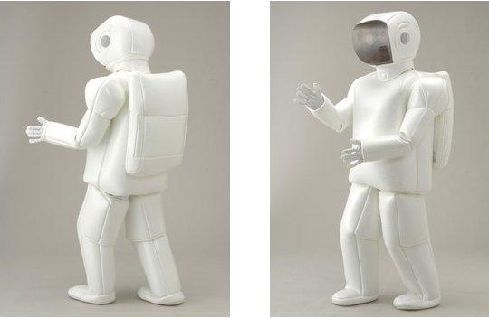 ASIMO Costume makes you look like a real-life robot