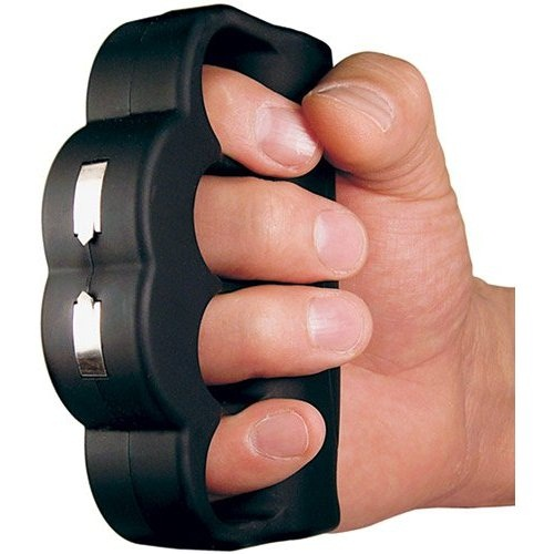 Knuckle Blaster Stun Gun is serious about self-defense